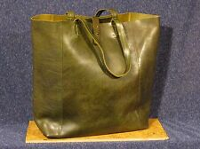 Lucky Brand NWOT The Point Olive Leather Tote