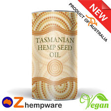 Hemp Seed Oil Australian Certified Organic Cold Pressed Imported Ingredients 1l