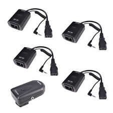 Studio AC-01B Wireless Remote Strobe Flash Trigger (1X Transmitter+4X Receiver)