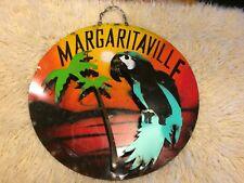 "Vintage Unique Large Metal ""Margaritaville"" Decorative Art Sign"