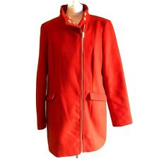George Red Womens Cocoon Coat UK 16