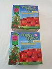 2 Pack New Topsy Turvy Upside Down Tomato Planter Hanging Garden Vegetable Plant