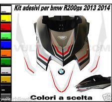 adesivi R1200 gs 2013 2014 kit personalizzato  puntale parafango superiore