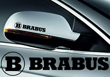 MERCEDES BRABUS SYMBOL MIRROR DECALS STICKERS GRAPHICS x 4 Any Colour