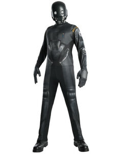 """Rogue One Mens K-2SO Costume, X-Large,CHEST 44 - 46"""", WAIST 36 - 40"""", INSEAM 33"""""""