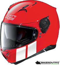 NOLAN Casco Casco Moto n87 Martz N-COM ROSSO-BIANCO TAGLIA M (57/58)