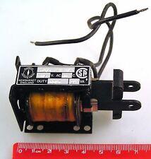 Magnetic Devices Ltd 674/TS23194/3 Solenoid 115VAC 60'C Duty Cont 24VA OM0944