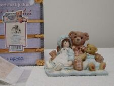 """Cherished Teddies """"ELMER & FRIENDS""""FRIENDS R THE THREAD THAT HOLDS LIFE TOGETHER"""