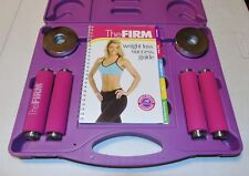 The Firm CardioWeights Cardio Workout Weights Set GREAT SHAPE SEE DESCRIPTION