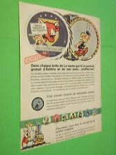 PUBLICITE - LA VACHE QUI RIT - PORTRAIT ASTERIX ET SES AMIS - 1967 ( M7 )