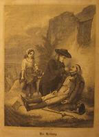 Volks-Kalender 1845 und 1846 in einem Band, M. Simion (hübsch amüsante Zeitreise
