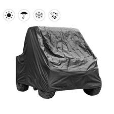 UTV Cover with Heavy Duty Black Oxford Waterproof Material Included Storage Bag