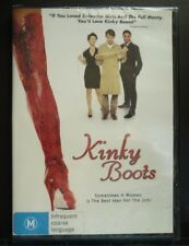 DVD - KINKY BOOTS - BRAND NEW in PLASTIC WRAP