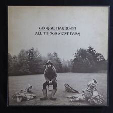 George Harrison ALL THINGS MUST PASS UK ORIGINAL 1970 BOX SET 3 LP