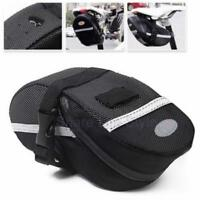 MTB Mountain Bike Bag Road Bicycle Cycling Seat Saddle Bag Accessories Q