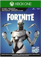 Fortnite Xbox One Eon Skin Cosmetic Set Skin+2000 V-Bucks Physical Card