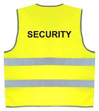 sécurité jaune fluo haute visibilité Gilet de sécurité taille large / XL R200X