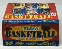 1991-92 Fleer Basketball Jumbo Michael Jordan Cards Box