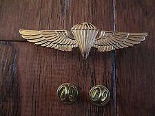 U.S MILITARY NAVY MARINE CORPS GOLD PARACHUTIST PARATROOPER JUMP WINGS