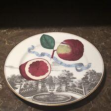 "Fitz and Floyd  Villa Fruitissimo I Fruit Luncheon Plate, Poino Adamo 9.25"""