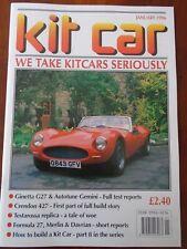 Kit Car Jan 1996 Ginetta G27, Autotune Gemini