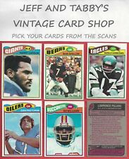 1977 TOPPS FOOTBALL 173 to 354 U-PICK FROM SCANS