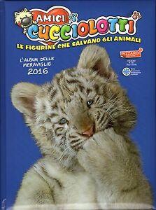 Album di figurine Amici cucciolotti + Cartolotte 2016 - Completo