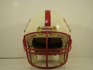 SCHUTT HIGH SCHOOL/YOUTH FOOTBALL HELMET USED LARGE
