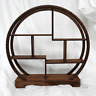 Traditional Chinese Wooden Moon Design Display Stand for Netsuke / Curios - NEW