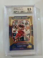 2004-05 SP Game Used Parallel #133 LeBron James  BGS 8.5  ONLY /50 MADE