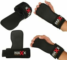 Maxx Gel Padded Weight Lifting Gym Strap Hand Bar Wrist Support Glove Wrap Strap