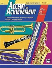 NEW Accent on Achievement, Bk 1: Teacher's Resource Kit by John O'Reilly