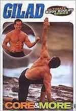 GILAD: ULTIMATE BODY SCULPT - CORE & MORE (Gilad Janklowicz) - DVD - Region Free