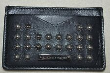 ALEXANDER McQUEEN Studded Card Holder New