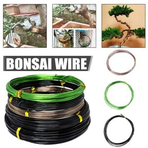 Bonsai Wires Anodized Aluminum Training Styling Tree Craft Florist Wire 9 Rolls
