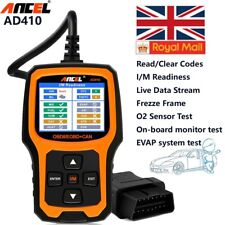 Fault Code Reader OBDII  Scanner Engine Diagnostic Reset Tool Car Repair Tool UK