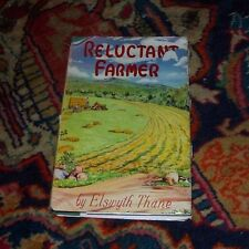 Reluctant Farmer by Elswyth Thane HC/DJ 1st Ed Farm in Vermont 1950