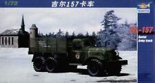 TRUMPETER 1/72 zil-157 ejército soviético camión #01101