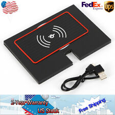 Black Wireless Charger Qi Car holder Mobile for Toyota Camry Console Perfect US