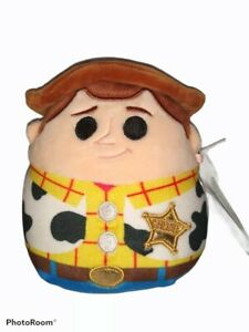 "NWT Squishmallow 5"" Disney Toy Story Woody Soft Plush Item #283258"