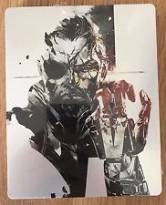 Metal Gear Solid 5 The Phantom Pain Case Steelbook G2 NO GAME - New Sealed PS4