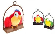 GRANDE pappagallo PARLANTE imita e ripete quello che dici-Pappagallo parlante regalo
