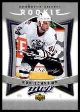 2007-08 Upper Deck MVP Rookie Rob Schremp Rookie #338