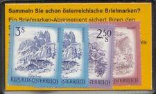 Österreich Markentäschchen für Automaten 7 b 10 Schilling (ANK 80.-)