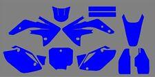 Honda CRF 150 R Mx Motocross 2007- 2018 Graphics Template vector EPS