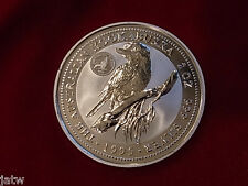 Australia. 1995 2oz - Silver Kookaburra..  Royal Visit Florin Privy Mark.  BU