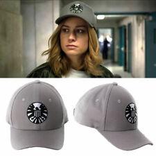 Captain Marvel Carol Danvers Shield Baseball Caps Adjustable Hip Hop Hat