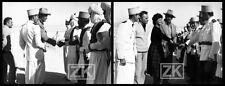 SOPHIA LOREN JOHN WAYNE Désert Libye Légion 2 Photos 1957