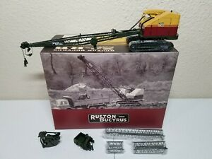 Ruston-Bucyrus 22-RB Crane, Dragline Metal Tracks - EMD 1:50 Scale #T003.1 New!