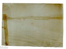 B570 Photo vintage Original Suisse Genève Parc des eaux Vives Le Débarcadère